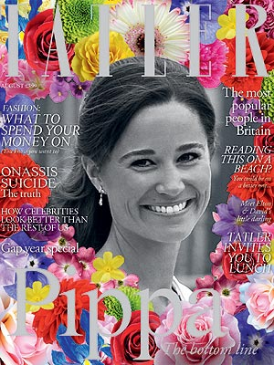Pippa Middleton - Tatler Mag Cover August 2011