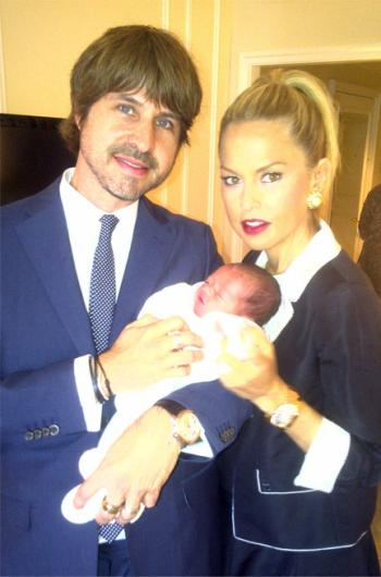 FIRST LOOK: Rachel Zoe Shows Off Baby Skylar