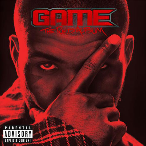 The Game - The R.E.D. Album Cover Art
