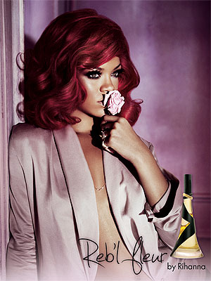 Rihanna Launches First Scent  'Reb'l Fleur'