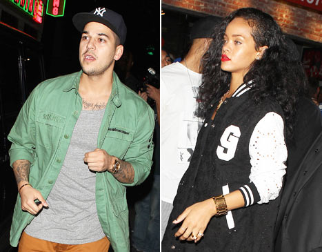 New Love Couple? Rob Kardashian And Rihanna Spotted Together Go-Karting With Friends