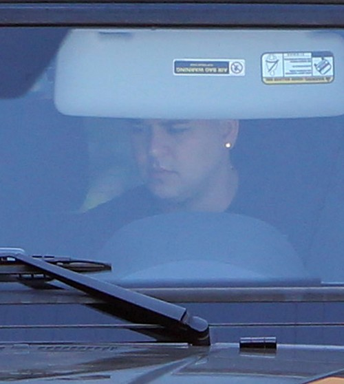 Rob Kardashian Leaves The House