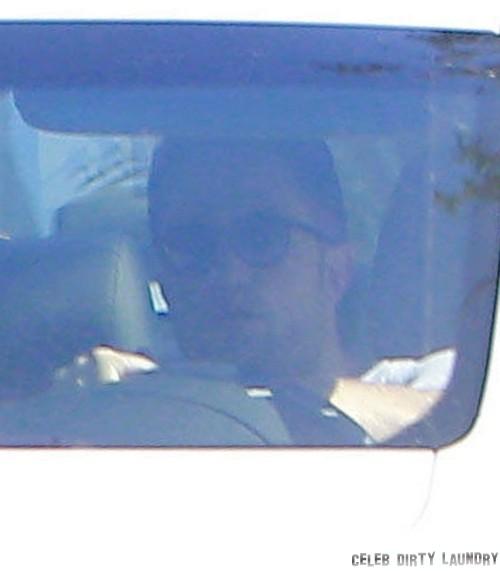 Exclusive... Robert Pattinson Seen Driving Around Hollywood