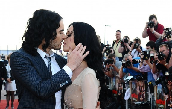 Russell Brand Says He's 'Happier Than Ever' After Splitting From Katy Perry
