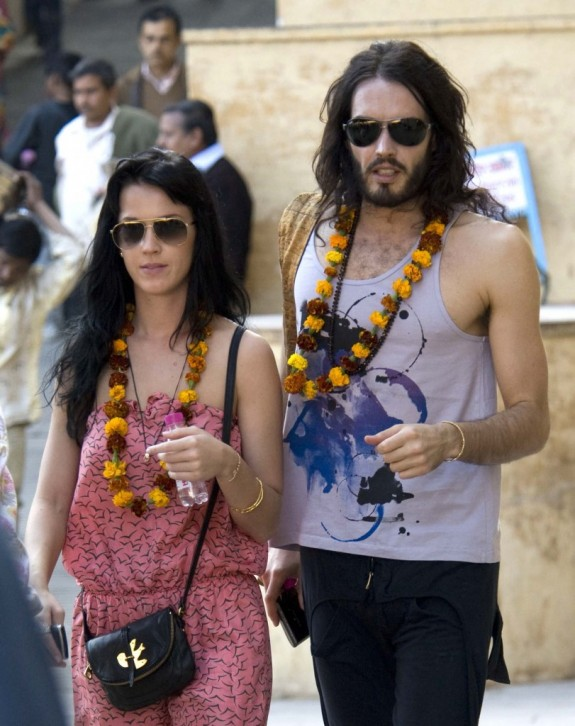 Russell Brand Talks Sex Life To Katy Perry, Joking That She Was Up For Many Things