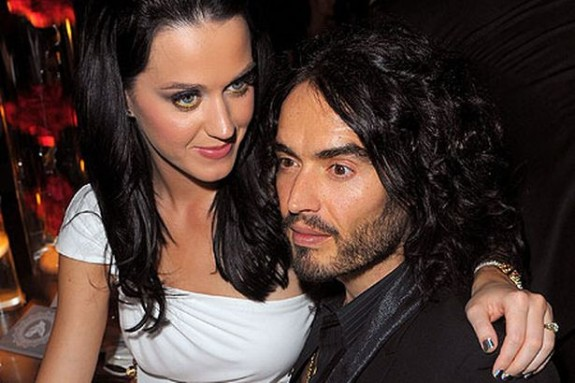 russell brand katy perry party
