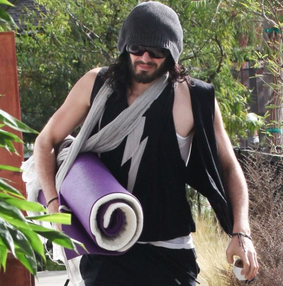 Humanitarian And Ex Addict Russell Brand Hits Homeless Man While Driving In LA