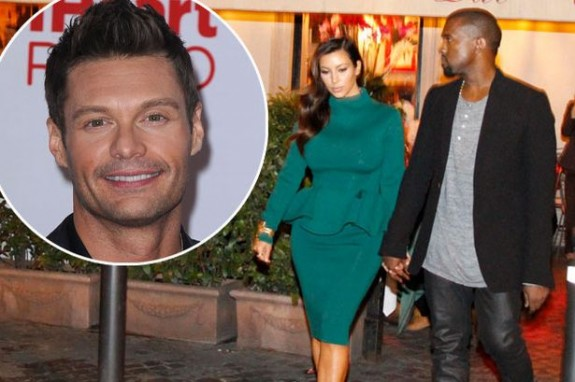 Ryan Seacrest Spills The Beans: Kanye West Proposing To Kim Kardashian On Her Birthday