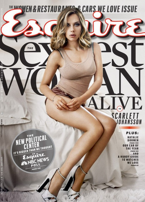 Scarlett Johansson Esquire's Sexiest Woman Alive 2013 (PHOTO)