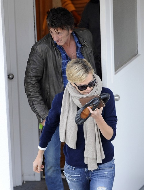 Sean Penn And Charlize Theron Planning Their Wedding - Report