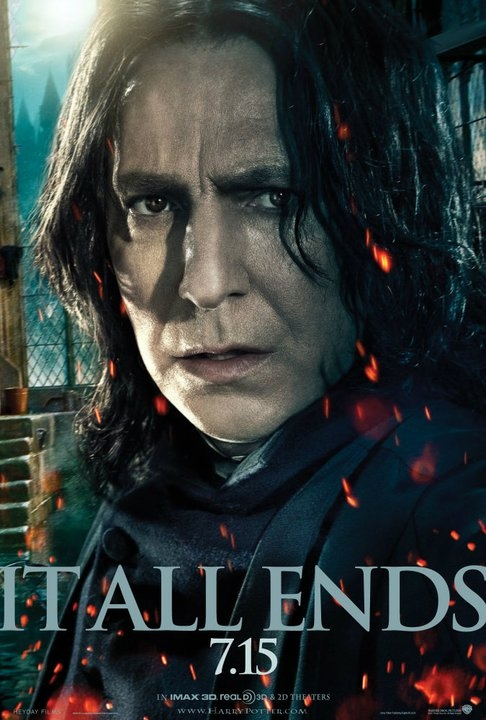'Harry Potter and the Deathly Hallows – Part II' Snape Poster Arrives
