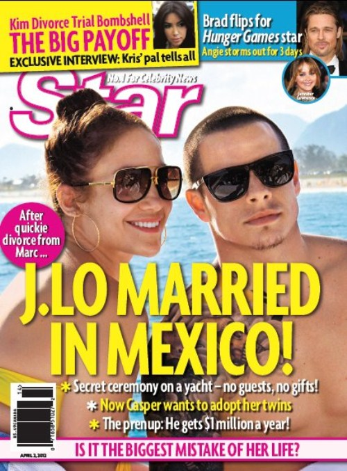Jennifer Lopezs Mexican Marriage To Casper Smart