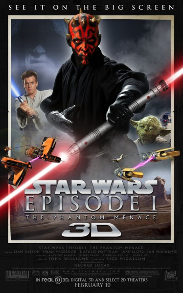 Star Wars-Episode 1 'The Phantom Menace' 3D Trailer