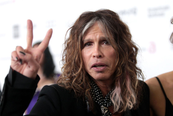 20th Annual Elton John AIDS Foundation's Oscar Viewing Party - Arrivals Steven Tyler