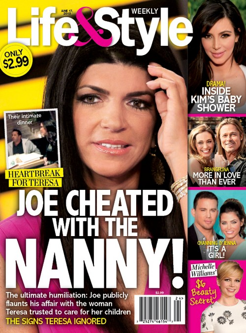 Teresa Giudice's Husband Joe Cheating With The Nanny Nicole Cemelli
