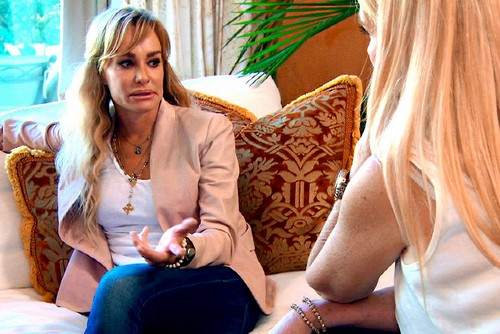 RHOBH Kim &#038; Kyle Richards Confronted Taylor Armstrong about Her Excessive Drinking