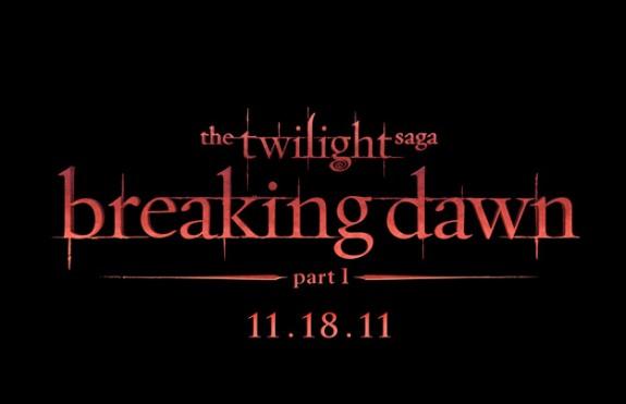Twilight Saga - Breaking Dawn Part 1 Title Treatment Photo