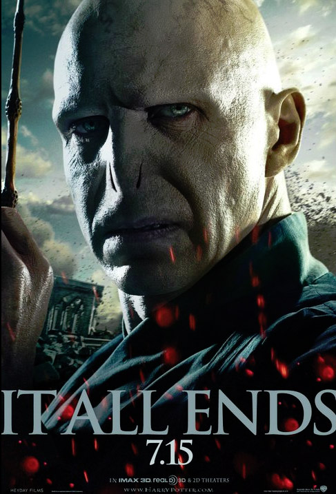 BRAND NEW: Voldemort 'Harry Potter and the Deathly Hallows 2′ Poster