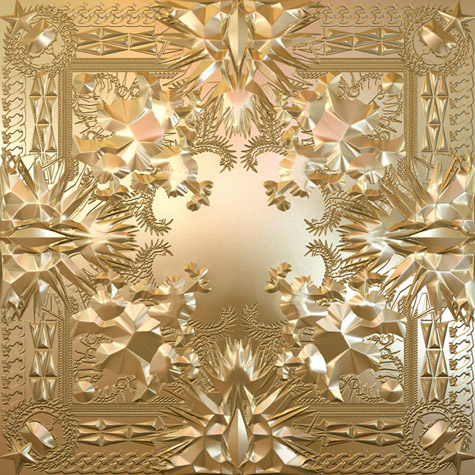Kanye West &amp; Jay-Z Watch the Throne Album Cover is GAUDY