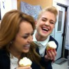Kelly Osbourne and Miley Cyrus Cupcakes