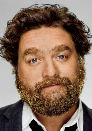 LOOK: Zach Galifianakis Does GQ and INSANE Photo Shoot