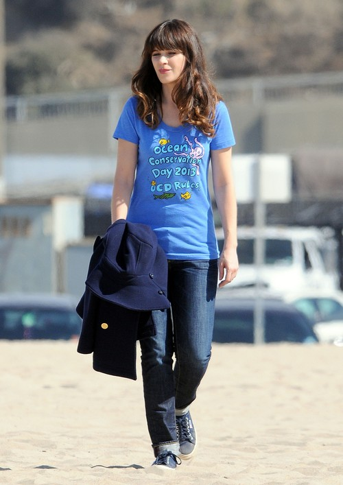 Zooey Deschanel Acting Like Diva On The Set Of 'New Girl'