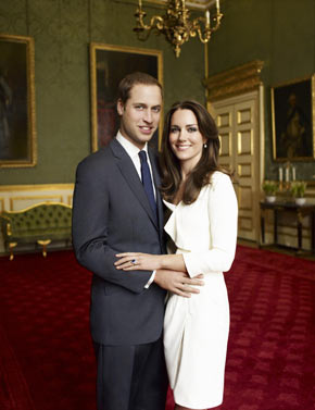 Prince William and Kate Middleton – Royal Engagement Photos