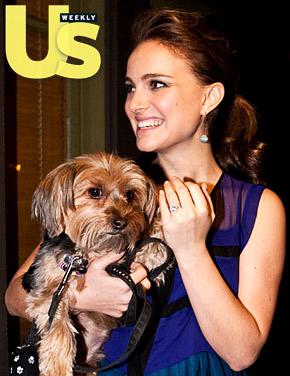 Natalie Portman Engagement Ring Photos