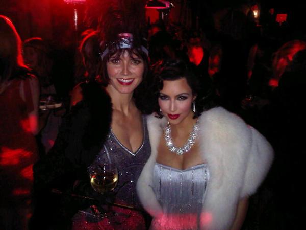 Kim Kardashian 1920s Look For Eva Longoria's Birthday Bash