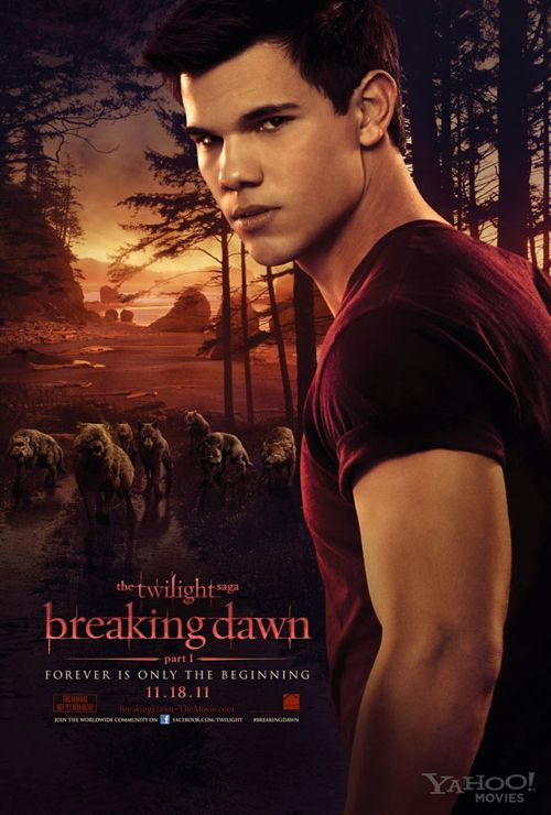 Breaking Dawn Part 1 Teaser Poster – Jacob