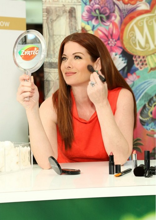 Actress and allergy sufferer Debra Messing joins Zyrtec to help women tackle Allergy Face – the beauty woes that accompany allergy symptoms – at the Allergy Face Beauty Counter in Macy's Herald