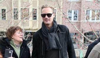 Alexander Skarsgard And Alexa Chung Dating?