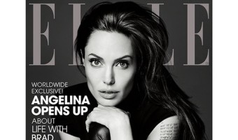 Angelina Jolie Covers Elle Magazine, Discusses Her Children, Brad Pitt, And Her Wild Twenties