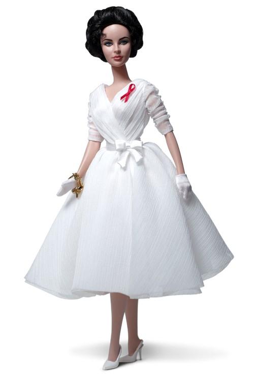 Barbie Has A New Elizabeth Taylor White Diamonds Doll (Photo)