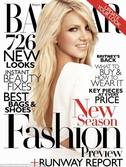 Britney Spears – Harper's Bazaar June 2011 Photos