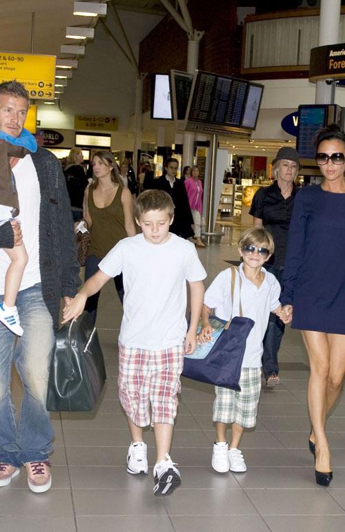David Beckham leaving LA for London