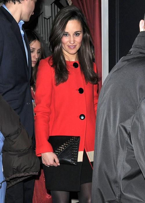 Pippa Middleton Leaivng Lulu's In London