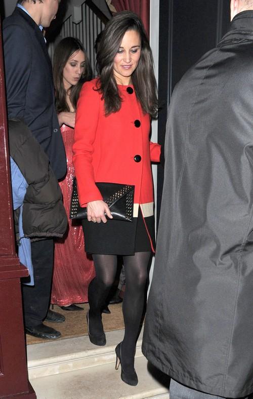 Pippa Middleton Leaivng Lulu's In London