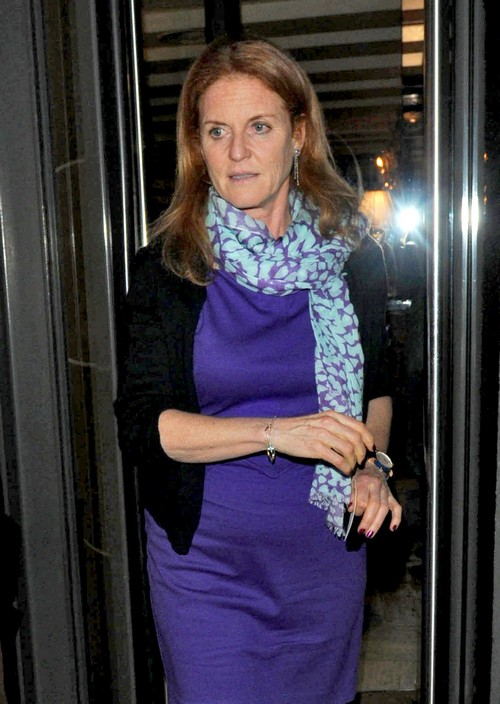 Sarah Ferguson & Prince Andrew Take Princess Beatrice Out In London