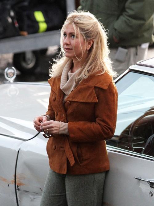 Jennifer Aniston Films 'Untitled Elmore Leonard Project'
