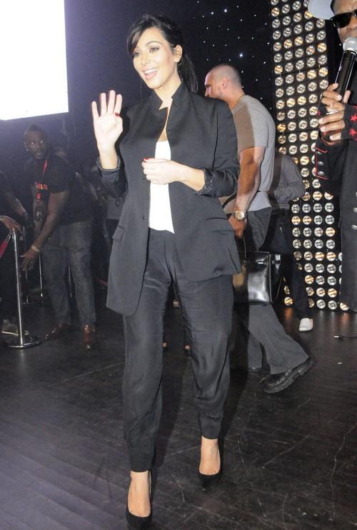"Pregnant Kim Kardashian At The ""Malife"" Event"