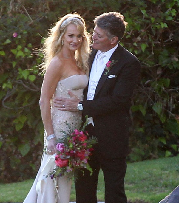 Bel Air Bay Club Wedding: Semi-Exclusive... Taylor Armstrong Marries John Bluher At