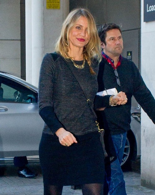 Cameron Diaz Engaged To Benji Madden