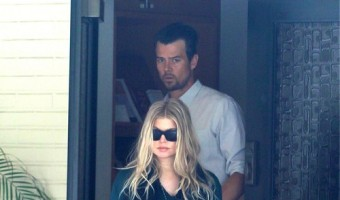 Pregnant Fergie and Josh Duhamel Spotted Leaving Church (PHOTOS)