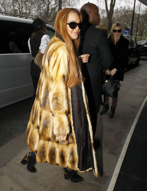 Desperate Lindsay Lohan Chases Max George All the Way to London