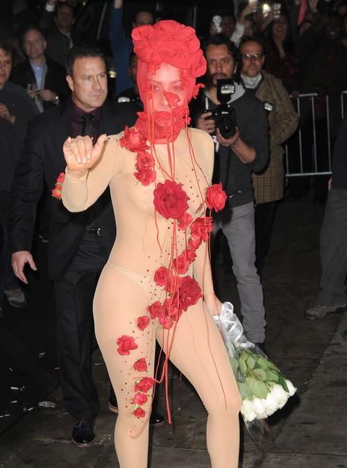 Birthday Girl Lady Gaga Arrives At Roseland Theater