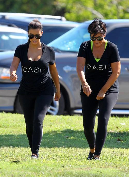 WHAT!?!  Kim Karadshian Says Mom Kris Jenner Is Her Role Model
