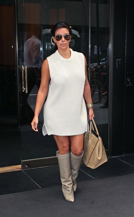 Kim Karadshian Says Bye Bye To Botox