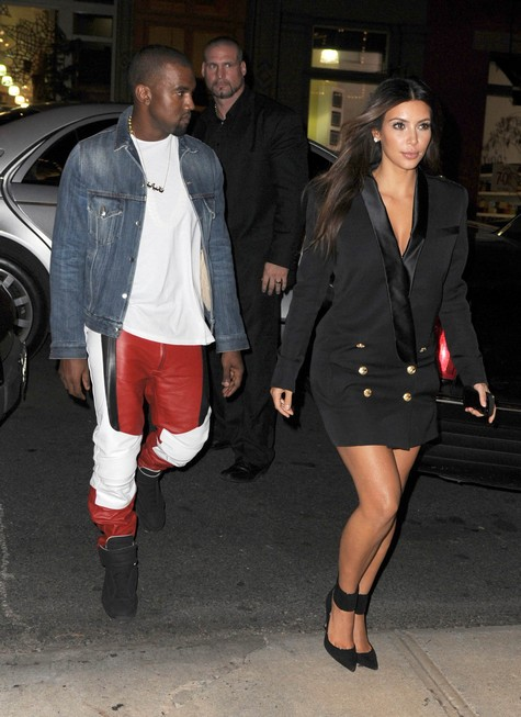 Things Are Getting Chilly Between Kanye West and Kim Kardashian