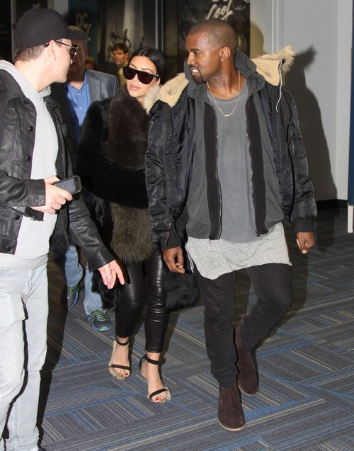 Kanye West Says Kim Kardashian Dated Broke Black Guys